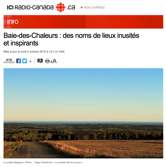 Article paru sur le blogue de Radio-Canada