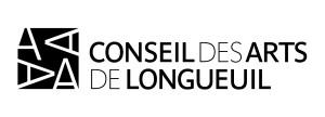 Logo du Conseil des arts de Longueuil