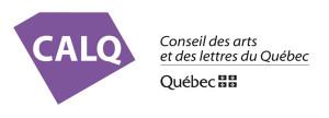 Logo du Conseil des arts et lettres du Québec