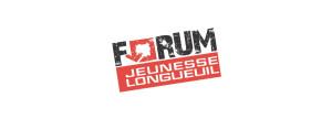Logo du Forum jeunesse de Longueuil