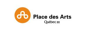 Logo de la Place des Arts