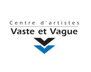 Logo du centre d'artistes Vaste et Vague